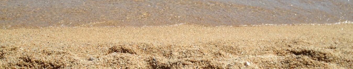 image of sand in the beach