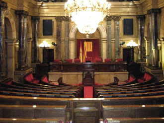 Chamber of the Parliament of Catalonia