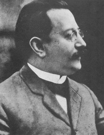 Enric Prat de la Riba, the first president of the Commonwealth (1914-1917)