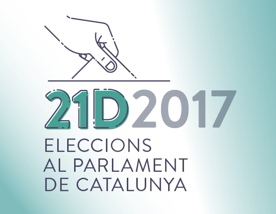 Website for the elections to the Catalan Parliament