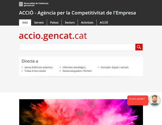 Nou web d'ACCIÓ