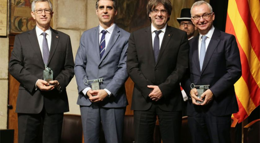 Award ceremony of XXVIII Premi Internacional Catalunya